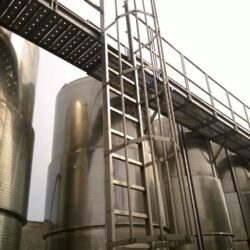 Wine factory built in the Foggia area
