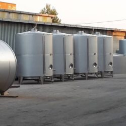 Single wall storage silo