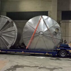 Transport with exceptional permits exceeding 4 meters in diameter